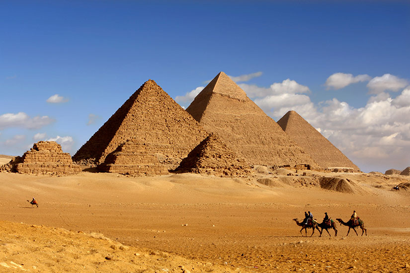 image Egypte Caire pyramids  it