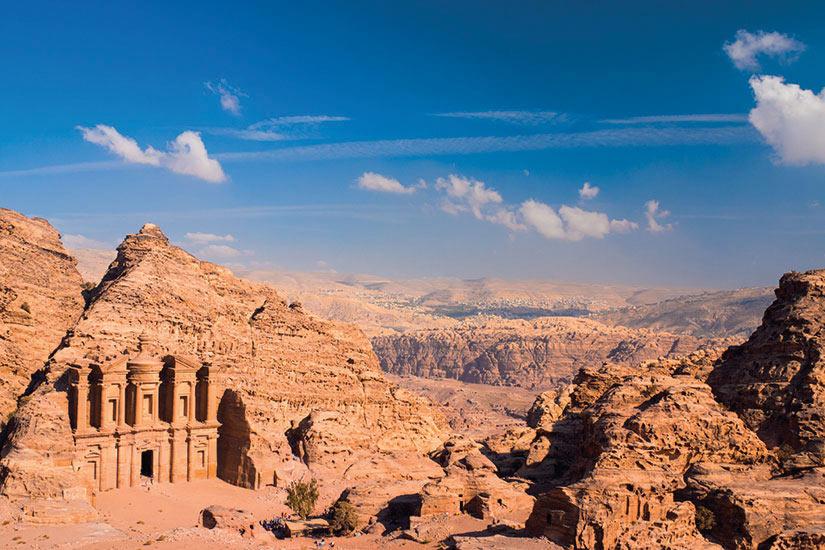 image Jordanie La monastere du Petra  it