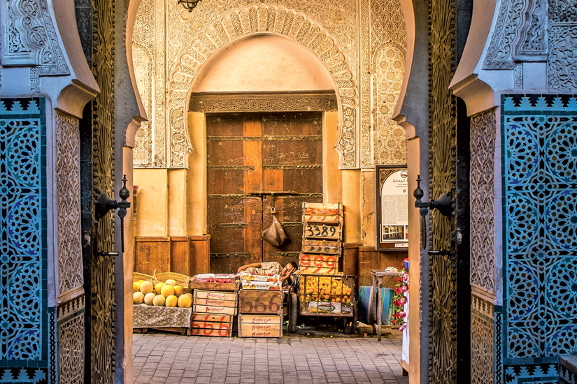 image Maroc marrakech fes porte medina 82 fo_57014798