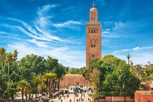 vignette Afrique du Nord Maroc Marrakech