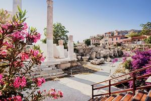vignette Grece Athenes quartier Plaka as_284485848