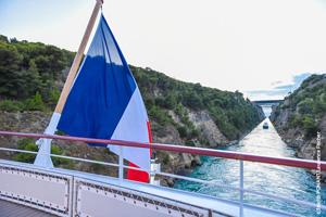 vignette PONANT navire Lyrial canal de corinthe Grece