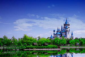 (vignette) Vignette Disneyland chateau  it