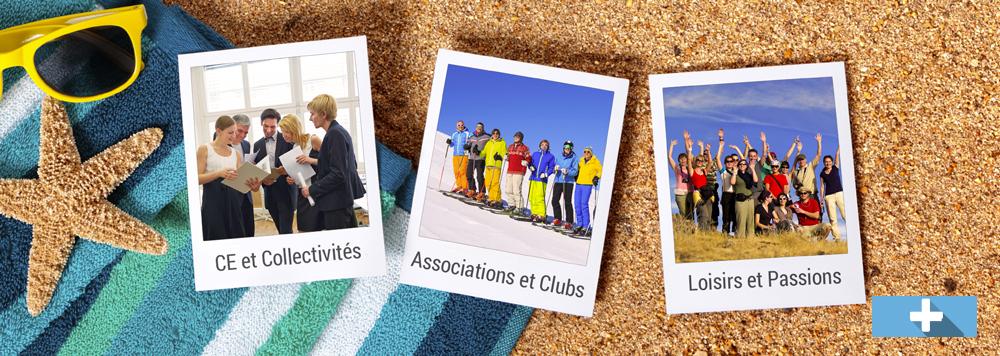 CE, collectivités, associations, clubs, loisirs et passions