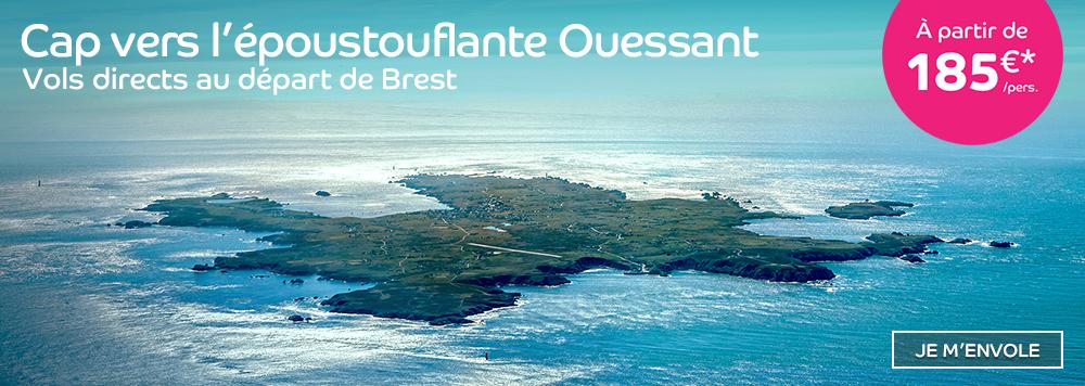 Cap vers Ouessant
