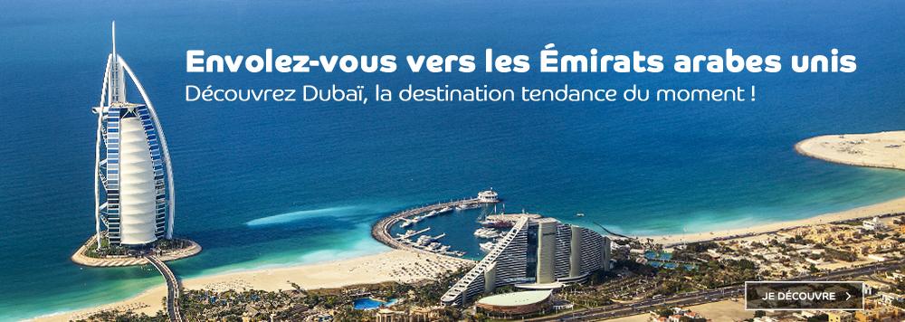 Nos voyages en groupe à Dubaï pour 2021 2022